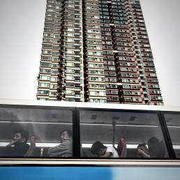 bus à Hongkong