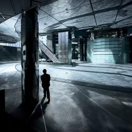 The center - Businessman à HongKong
