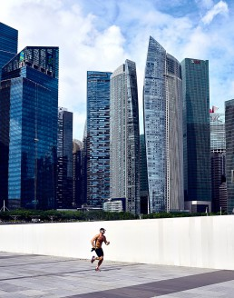 running buildings Singapour