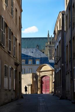 Rue de la princerie à Metz