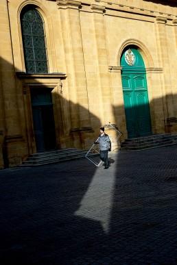 Eglise notre-dame à Metz, rue de la chèvre