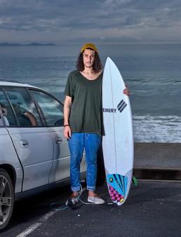 David - surfer français - 2x tour de l'Australie - Byron Bay