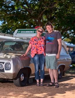Georgie et Dick - Tour de l'Australie depuis 8 semaines - Pentland - Flinders Highway
