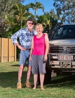 Rob et Linda - Tour de l'Australie - 10 semaines - Townsville - Bruce Highway