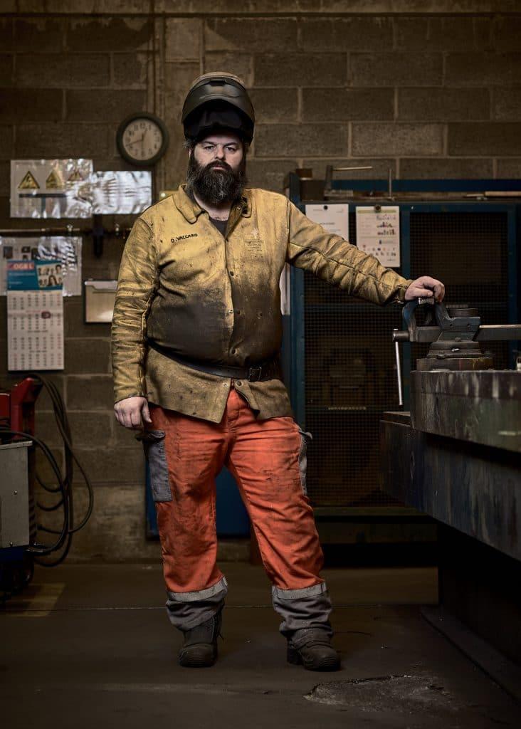 assembleur soudeur ouvrier arcelor mittal dommeldange