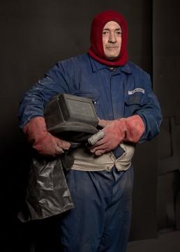 ouvrier sableur