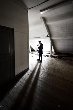 portrait Thierry Fedrigo - Journaliste au Républicain Lorrain