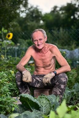 portrait jardin metz photo