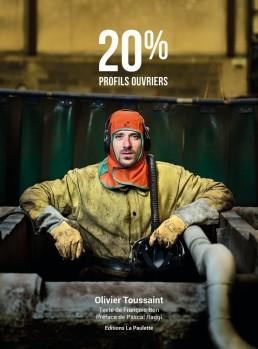 Couverture de 20% Profils ouvriers, livre de photo sur le monde ouvrier