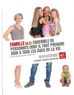 Campagne d'affichage pour la Caisse d'Epargne