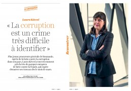 Laura Kovesi pour La Croix Hebdo