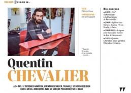 Quentin Chevalier pour Nancy Femmes